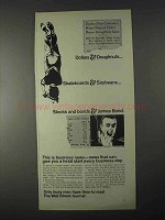 1966 Wall Street Journal Ad - Dollars & Doughnuts