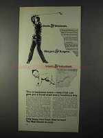 1966 Wall Street Journal Ad - Divots & Dividends