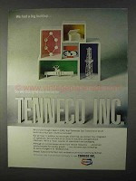 1966 Tenneco Inc. Ad - We Had a Big Buildup