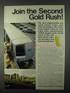 1966 Pacific Gas and Electric Company Ad - Gold Rush