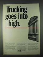 1966 ATA American Trucking Associations Ad - Goes High