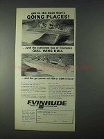 1966 Evinrude Rogue Boat Ad - Going Places