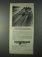 1966 Evinrude 100-S Outboard Motor Ad - Performance