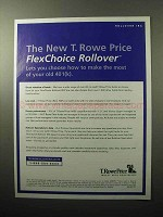 2005 T. Rowe Price FlexChoice Rollover IRA Ad!