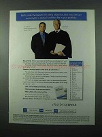 2001 Charles Schwab Investments Ad - Being Objective