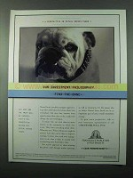2001 Franklin Templeton Investments Ad - Find the Bone