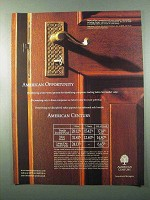 2001 American Century Investments Ad - Opportunity
