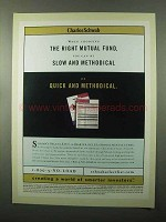 2000 Charles Schwab Investments Ad - Right Mutual Fund