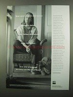 1999 TIAA-CREF Investments Ad - Grandfather Did Better
