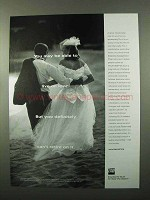 1999 TIAA-CREF Investments Ad - Be Able to Live on Love