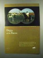 1998 First Union Ad - Degas at the Races