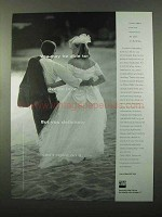 1998 TIAA-CREF Retirement Ad - Able to Live On Love