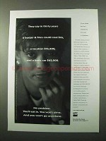 1997 TIAA-CREF Retirement Ad - In Thirty Years
