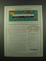 1996 Templeton Growth Fund Ad - A Global Route
