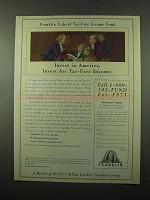 1996 Franklin Federal Tax-Free Income Fund Ad