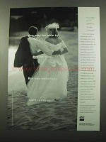 1996 TIAA-CREF Retirement Ad - Able to Live On Love