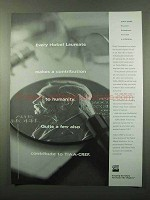 1996 TIAA-CREF Retirement Ad - Every Nobel Laureate