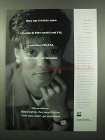 1996 TIAA-CREF Retirement Ad - In Thirty Years