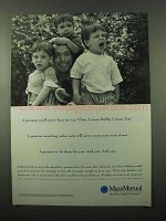 1996 Massachusetts Mutual Life Insurance Ad - Promise
