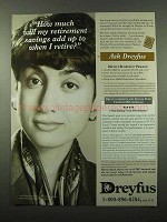 1995 Dreyfus Retirement Ad - How Much Savings