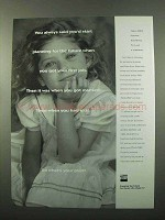 1994 TIAA-CREF Retirement Ad - Planning For the Future