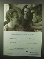 1993 Massachusetts Mutual Life Insurance Ad - Promise