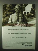 1993 Massachusetts Mutual Life Insurance Ad - Recitals