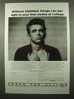1987 NatWest Bank Ad - Get Tight in Weeks at College