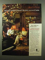 1985 Chubb Bank Ad - The More You Have to Insure