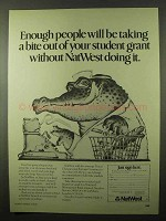 1979 NatWest Bank Ad - Student Grant