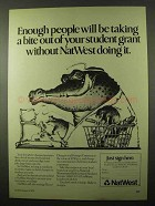 1978 NatWest Bank Ad -  Student Grant