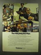 1970 Chemical Bank Ad - The $100,000,000 Man