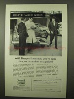 1962 Kemper Insurance Ad - More Than Just a Number