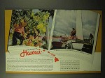 1937 Hawaii Tourism Ad - The Islands