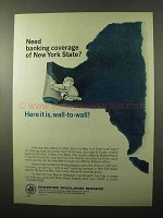 1966 Marine Midland Banks Ad - Need Coverage?
