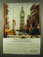1966 Irving Trust Ad - Business Problems Overseas