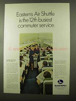 1966 Eastern Airline Ad - 12th Busiest Commuter Service