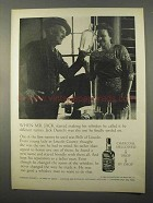 1966 Jack Daniel's Whiskey Ad - Started Making