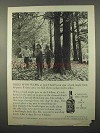 1966 Jack Daniel's Whiskey Ad - Folks Who Work At