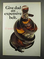 1966 Chivas Regal Scotch Ad - Give Dad Expensive Belt