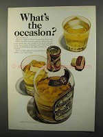 1966 Chivas Regal Scotch Ad - What's The Occasion?