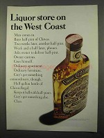 1966 Chivas Regal Scotch Ad - Liquor Store West Coast