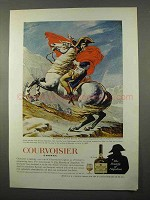 1966 Courvoisier Cognac Ad - Jacques-Louis David