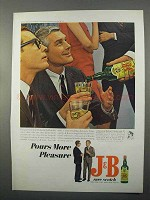 1966 J&B Scotch Ad - More Pleasure