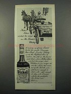 1966 George Dickel Whisky Ad - Mother Nature Magic