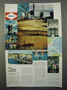1966 Grace Line Cruise Ad - Go With Grace
