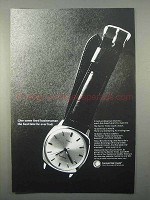1966 Electric Timex Watch Ad - Give Tired Businessman
