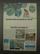 1966 Whirlpool IceMagic Automatic IceMaker Ad - Ice Out