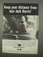 1966 National Safety Council Ad - Nice Jack Harris