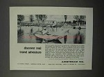 1966 Airstream Land Yacht Trailer Ad - Real Adventure